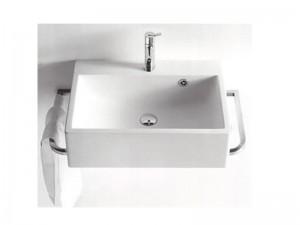 Agape Block lavabo sospeso con 1 foro per rubinetteria ACER720M1RZ