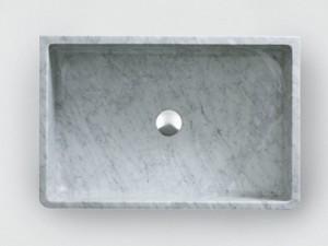 Agape Outdoor Carrara lavabo da appoggio ACER0730EPPG
