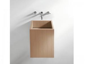 Agape Cube lavabo da appoggio o sospeso ACER0770M