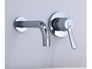 Agape Fez rubinetto lavabo a parete ARUB130150L