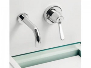 Agape Fez rubinetto lavabo a parete ARUB130200LU