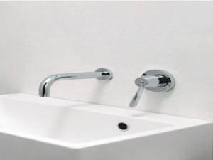 Agape Fez rubinetto lavabo a parete ARUB130250LU