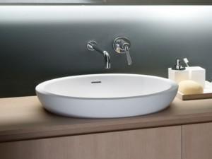 Agape Spoon XL lavabo semincasso ACER0713IZ