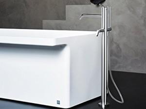 Agape Square rubinetto vasca freestanding con doccetta ARUB1112
