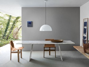 Agapecasa Asolo tavolo da pranzo in marmo