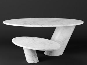 Agapecasa Eccentrico tavolino in marmo AECC10124