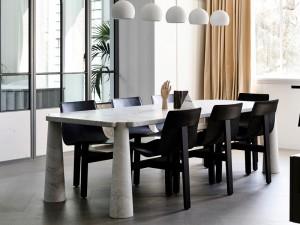 Agapecasa Eros tavolo da pranzo in marmo