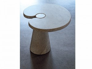 Agapecasa Eros tavolo sagomato in marmo
