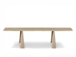 Agapecasa Incas tavolo da pranzo in legno con 4 supporti