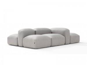 Amura Lapis divano componibile in tessuto LAPIS.E009