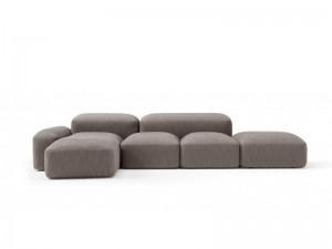 Amura Lapis divano componibile in tessuto LAPIS.E019