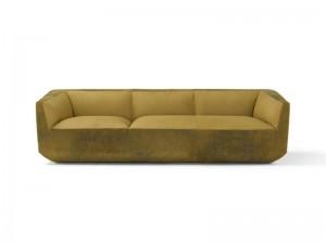 Amura Panis divano in pelle PANIS589