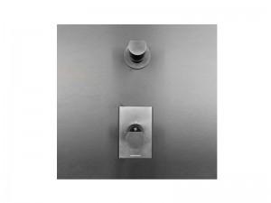 Antonio Lupi Indigo miscelatore termostatico doccia con rubinetto d'arresto ND604+ND605