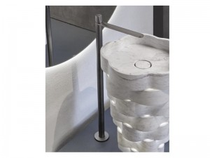 Antonio Lupi Indigo rubinetto lavabo monocomando da terra ND902