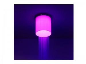 Antonio Lupi Iride soffione doccia a soffitto con LED RGB IRIDE