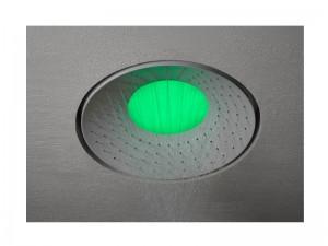 Antonio Lupi Lumen soffione doccia a soffitto con LED RGB LUMEN
