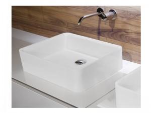Antonio Lupi Servoretto lavabo da appoggio o sottopiano 50cm RETTOMOOD50-Flumood