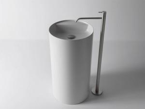 Antonio Lupi lavabo free standing in Flumood SIMPLO85