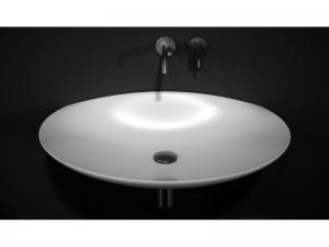 Antonio Lupi lavabo sospeso in Flumood VENERE