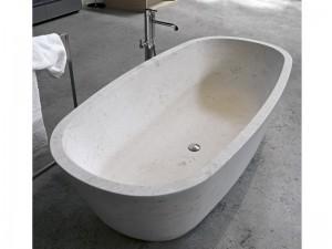 Antonio Lupi Baia vasca da bagno in pietra BAIA-STONE
