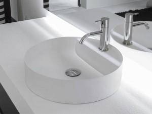 Antonio Lupi Simplo lavabo da appoggio SIMPLOTONDO