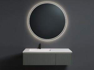 Antonio Lupi Albore specchio tondo con led bianco ALBORE72W