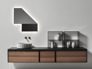 Antonio Lupi Specchidicarta specchio con led bianco SDC