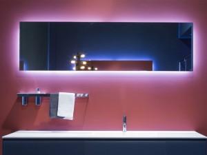 Antonio Lupi Vario specchio rettangolare con led bianco VARIO50W