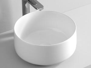 Artceram Cognac35 lavabo da appoggio bianco opaco COL00405