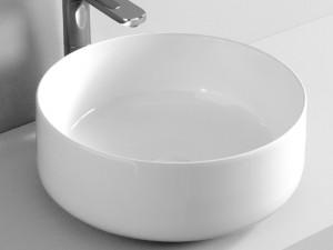 Artceram Cognac42 lavabo da appoggio bianco opaco COL00105