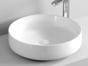 Artceram Cognac48 lavabo da appoggio bianco opaco COL00205