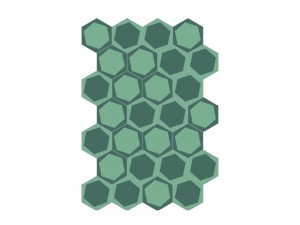 Bisazza Cementiles Decorations cementine On/Off Teal