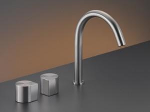 Cea Duet rubinetto lavabo 3 fori con bocca girevole DET12