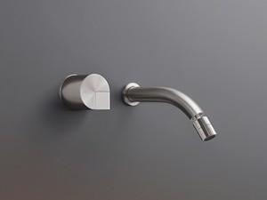 Cea Duet rubinetto bidet 2 fori a parete con bocca orientabile DET19