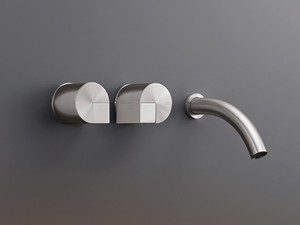 Cea Duet rubinetto lavabo 3 fori a parete DET20