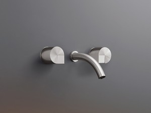 Cea Duet rubinetto lavabo 3 fori a parete DET24