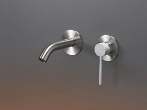 Cea Gastone rubinetto lavabo 2 fori a parete GAS04