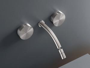Cea Giotto rubinetto bidet 3 fori a parete con bocca orientabile GIO15