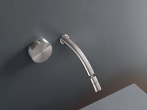 Cea Giotto rubinetto bidet idroprogressivo 2 fori a parete con bocca orientabile GIO20