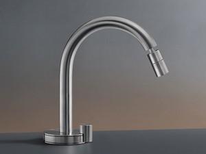 Cea Giotto rubinetto bidet idroprogressivo monocomando con bocca orientabile GIO23