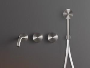 Cea Giotto Plus rubinetto vasca 4 fori a parete con doccetta GIO94