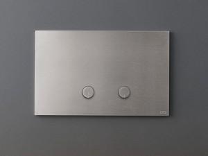 Cea Hydroplate placca di comando wc due pulsanti a rilievo PLA01
