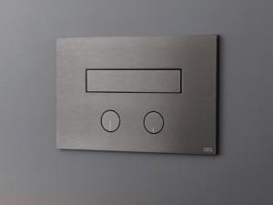 Cea Hydroplate placca di comando wc due pulsanti con idroscopino a scomparsa PLA05