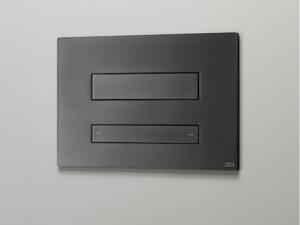 Cea Hydroplate placca di comando wc doppio pulsante con idroscopino a scomparsa PLA06