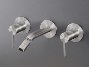 Cea Innovo rubinetto bidet 3 fori a parete con bocca orientabile INV33