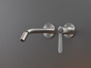 Cea Lutezia Plus rubinetto bidet o lavabo 2 fori a parete con bocca orientabile LTZ25