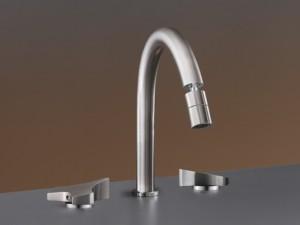 Cea Ziqq rubinetto bidet 3 fori con bocca orientabile ZIQ73