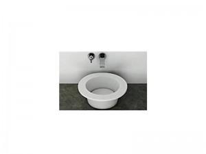 Cielo Amedeo lavabo tondo da appoggio o incasso AMLA45