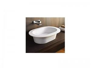 Cielo Amedeo lavabo ovale da appoggio o incasso AMLA65