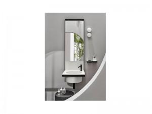 Cielo Elle Tondo lavabo con struttura